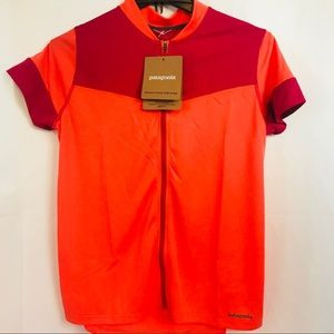 New Patagonia Womens Crank Craft Jersey Cycling